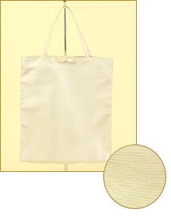 「パーティーのお供に!シャンタン素材が華やかなリボン付きサブバッグ(折りたたみ可能)」の商品写真